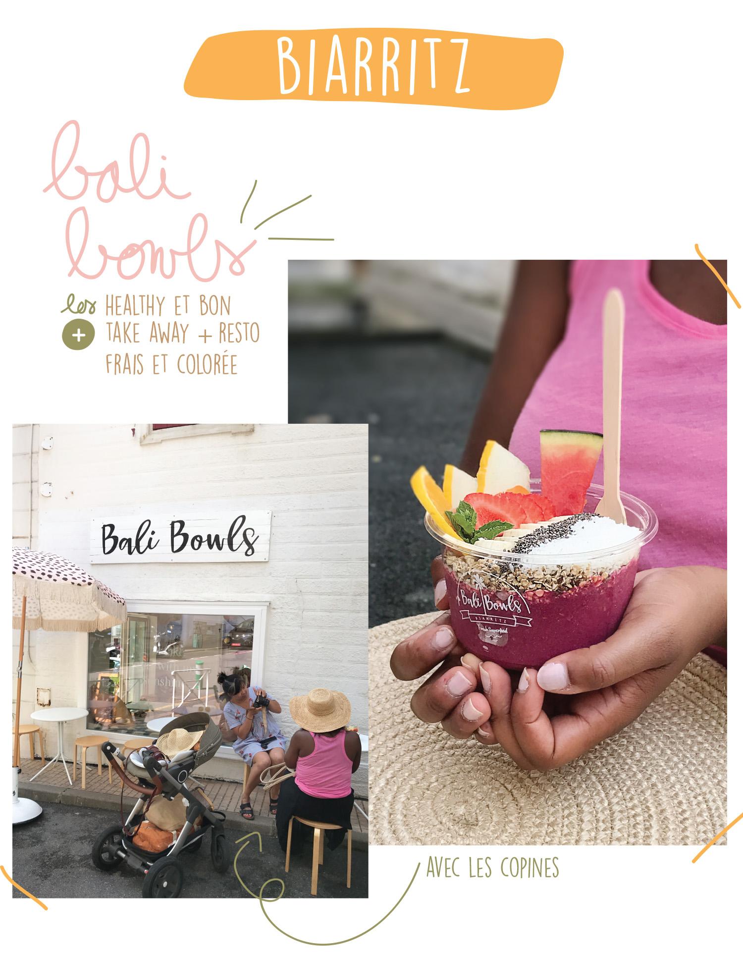 Bonne Adresse Biarritz - Bali Bowls - Petits Béguins