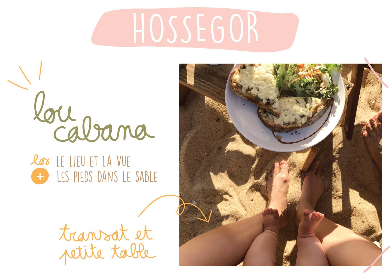 Bonne Adresse Hossegor - Lou Cabana - Petits Béguins